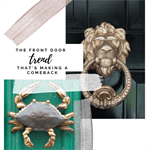 The Front Door trend That's Making a Comeback