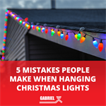 5 Mistakes People Make When Hanging Christmas Lights