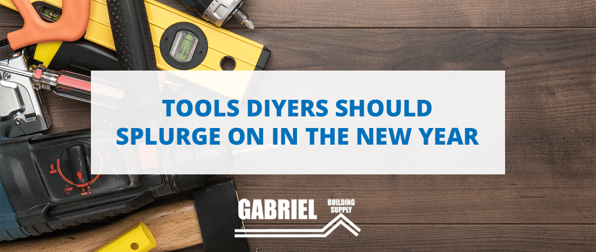 Tools that DIYers should splurge on in the New Year